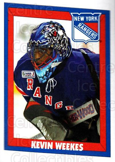 2005-06 Panini Stickers #109 Kevin Weekes<br/>13 In Stock - $1.00 each - <a href=https://centericecollectibles.foxycart.com/cart?name=2005-06%20Panini%20Stickers%20%23109%20Kevin%20Weekes...&quantity_max=13&price=$1.00&code=127500 class=foxycart> Buy it now! </a>