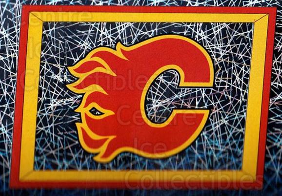 2005-06 Panini Stickers #205 Calgary Flames<br/>11 In Stock - $1.00 each - <a href=https://centericecollectibles.foxycart.com/cart?name=2005-06%20Panini%20Stickers%20%23205%20Calgary%20Flames...&quantity_max=11&price=$1.00&code=127600 class=foxycart> Buy it now! </a>