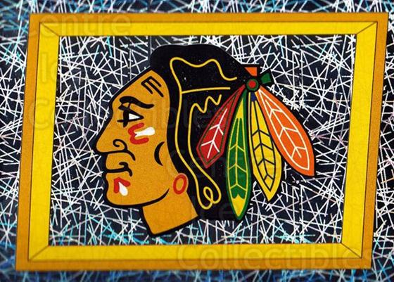 2005-06 Panini Stickers #216 Chicago Blackhawks<br/>6 In Stock - $1.00 each - <a href=https://centericecollectibles.foxycart.com/cart?name=2005-06%20Panini%20Stickers%20%23216%20Chicago%20Blackha...&quantity_max=6&price=$1.00&code=127612 class=foxycart> Buy it now! </a>