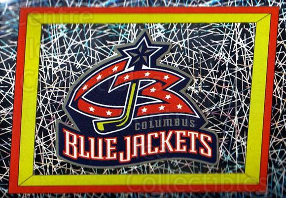 2005-06 Panini Stickers #241 Columbus Blue Jackets<br/>9 In Stock - $1.00 each - <a href=https://centericecollectibles.foxycart.com/cart?name=2005-06%20Panini%20Stickers%20%23241%20Columbus%20Blue%20J...&quantity_max=9&price=$1.00&code=127639 class=foxycart> Buy it now! </a>