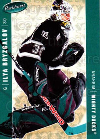 2005-06 Parkhurst #10 Ilya Bryzgalov<br/>7 In Stock - $1.00 each - <a href=https://centericecollectibles.foxycart.com/cart?name=2005-06%20Parkhurst%20%2310%20Ilya%20Bryzgalov...&quantity_max=7&price=$1.00&code=127641 class=foxycart> Buy it now! </a>