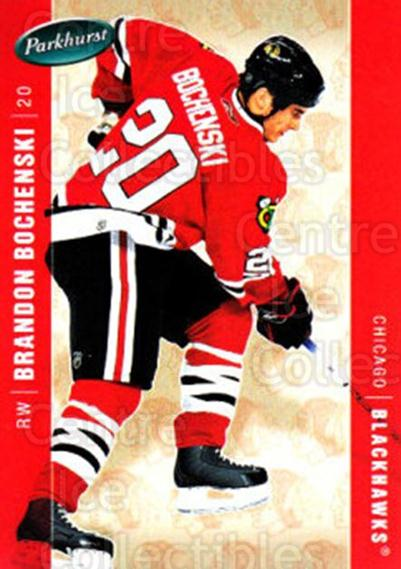 2005-06 Parkhurst #101 Brandon Bochenski<br/>6 In Stock - $2.00 each - <a href=https://centericecollectibles.foxycart.com/cart?name=2005-06%20Parkhurst%20%23101%20Brandon%20Bochens...&quantity_max=6&price=$2.00&code=127643 class=foxycart> Buy it now! </a>