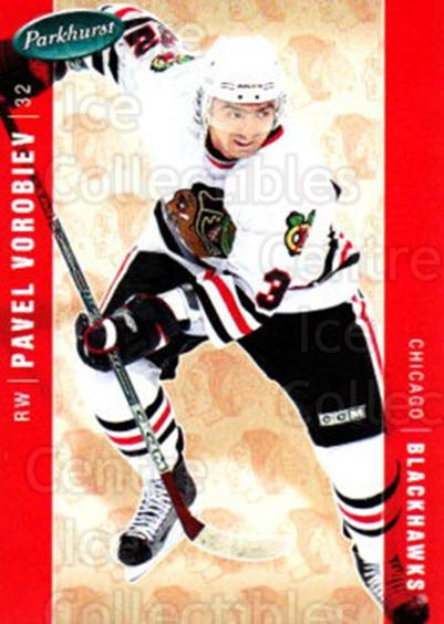 2005-06 Parkhurst #105 Pavel Vorobiev<br/>5 In Stock - $1.00 each - <a href=https://centericecollectibles.foxycart.com/cart?name=2005-06%20Parkhurst%20%23105%20Pavel%20Vorobiev...&quantity_max=5&price=$1.00&code=127647 class=foxycart> Buy it now! </a>