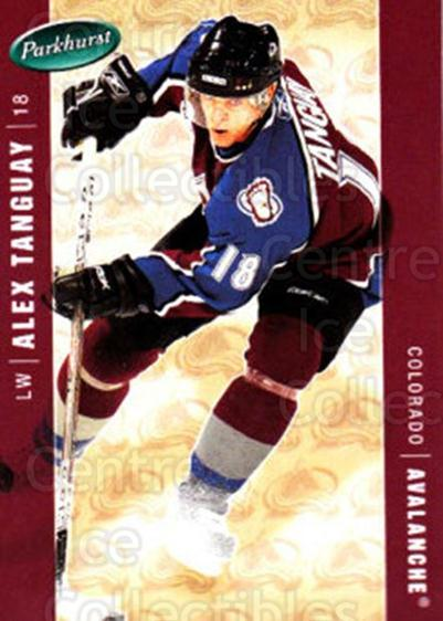 2005-06 Parkhurst #117 Alex Tanguay<br/>7 In Stock - $1.00 each - <a href=https://centericecollectibles.foxycart.com/cart?name=2005-06%20Parkhurst%20%23117%20Alex%20Tanguay...&quantity_max=7&price=$1.00&code=127660 class=foxycart> Buy it now! </a>