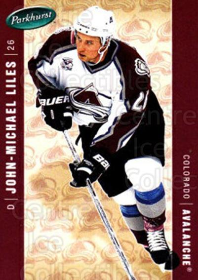 2005-06 Parkhurst #123 John-Michael Liles<br/>7 In Stock - $1.00 each - <a href=https://centericecollectibles.foxycart.com/cart?name=2005-06%20Parkhurst%20%23123%20John-Michael%20Li...&quantity_max=7&price=$1.00&code=127667 class=foxycart> Buy it now! </a>