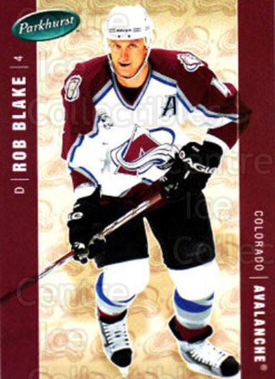 2005-06 Parkhurst #124 Rob Blake<br/>7 In Stock - $1.00 each - <a href=https://centericecollectibles.foxycart.com/cart?name=2005-06%20Parkhurst%20%23124%20Rob%20Blake...&quantity_max=7&price=$1.00&code=127668 class=foxycart> Buy it now! </a>
