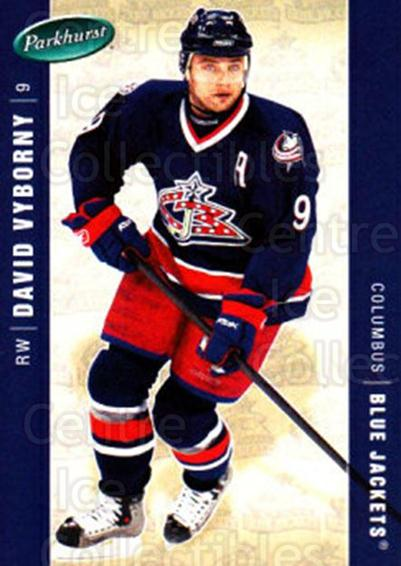 2005-06 Parkhurst #134 David Vyborny<br/>6 In Stock - $1.00 each - <a href=https://centericecollectibles.foxycart.com/cart?name=2005-06%20Parkhurst%20%23134%20David%20Vyborny...&quantity_max=6&price=$1.00&code=127679 class=foxycart> Buy it now! </a>