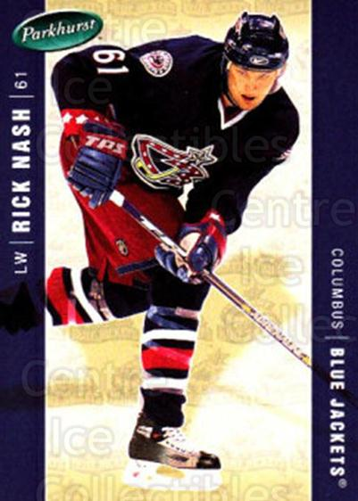 2005-06 Parkhurst #137 Rick Nash<br/>7 In Stock - $1.00 each - <a href=https://centericecollectibles.foxycart.com/cart?name=2005-06%20Parkhurst%20%23137%20Rick%20Nash...&quantity_max=7&price=$1.00&code=127682 class=foxycart> Buy it now! </a>