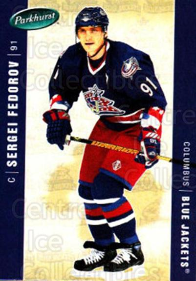 2005-06 Parkhurst #138 Sergei Fedorov<br/>6 In Stock - $2.00 each - <a href=https://centericecollectibles.foxycart.com/cart?name=2005-06%20Parkhurst%20%23138%20Sergei%20Fedorov...&quantity_max=6&price=$2.00&code=127683 class=foxycart> Buy it now! </a>