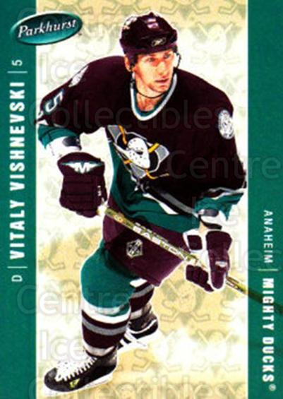 2005-06 Parkhurst #14 Vitali Vishnevsky<br/>7 In Stock - $1.00 each - <a href=https://centericecollectibles.foxycart.com/cart?name=2005-06%20Parkhurst%20%2314%20Vitali%20Vishnevs...&quantity_max=7&price=$1.00&code=127685 class=foxycart> Buy it now! </a>