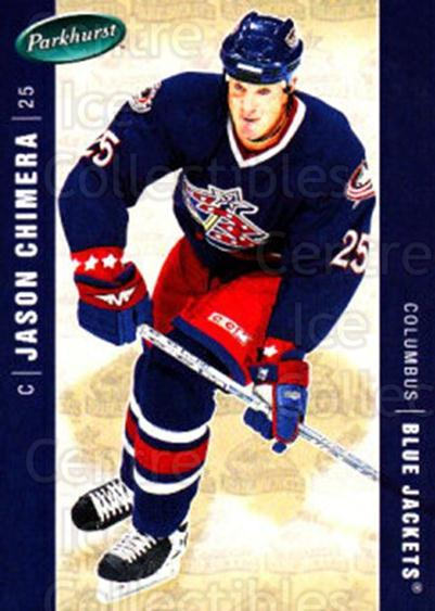 2005-06 Parkhurst #143 Jason Chimera<br/>7 In Stock - $1.00 each - <a href=https://centericecollectibles.foxycart.com/cart?name=2005-06%20Parkhurst%20%23143%20Jason%20Chimera...&quantity_max=7&price=$1.00&code=127689 class=foxycart> Buy it now! </a>