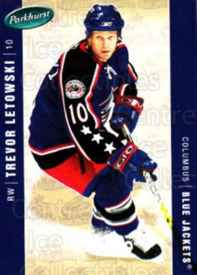 2005-06 Parkhurst #144 Trevor Letowski<br/>6 In Stock - $1.00 each - <a href=https://centericecollectibles.foxycart.com/cart?name=2005-06%20Parkhurst%20%23144%20Trevor%20Letowski...&quantity_max=6&price=$1.00&code=127690 class=foxycart> Buy it now! </a>