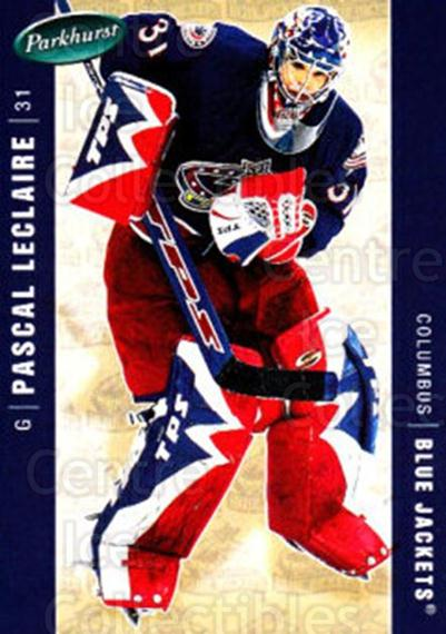 2005-06 Parkhurst #148 Pascal Leclaire<br/>7 In Stock - $1.00 each - <a href=https://centericecollectibles.foxycart.com/cart?name=2005-06%20Parkhurst%20%23148%20Pascal%20Leclaire...&quantity_max=7&price=$1.00&code=127694 class=foxycart> Buy it now! </a>