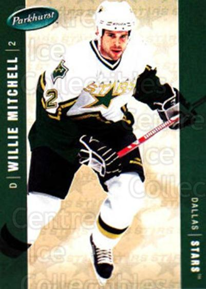 2005-06 Parkhurst #154 Willie Mitchell<br/>7 In Stock - $1.00 each - <a href=https://centericecollectibles.foxycart.com/cart?name=2005-06%20Parkhurst%20%23154%20Willie%20Mitchell...&quantity_max=7&price=$1.00&code=127701 class=foxycart> Buy it now! </a>