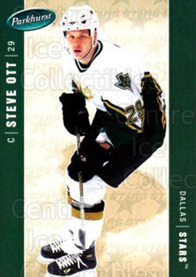 2005-06 Parkhurst #155 Steve Ott<br/>7 In Stock - $1.00 each - <a href=https://centericecollectibles.foxycart.com/cart?name=2005-06%20Parkhurst%20%23155%20Steve%20Ott...&quantity_max=7&price=$1.00&code=127702 class=foxycart> Buy it now! </a>
