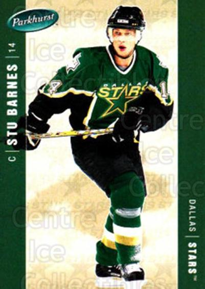 2005-06 Parkhurst #158 Stu Barnes<br/>7 In Stock - $1.00 each - <a href=https://centericecollectibles.foxycart.com/cart?name=2005-06%20Parkhurst%20%23158%20Stu%20Barnes...&quantity_max=7&price=$1.00&code=127705 class=foxycart> Buy it now! </a>