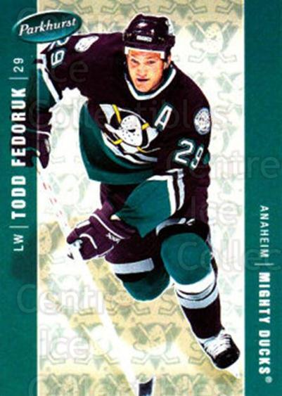 2005-06 Parkhurst #16 Todd Fedoruk<br/>7 In Stock - $1.00 each - <a href=https://centericecollectibles.foxycart.com/cart?name=2005-06%20Parkhurst%20%2316%20Todd%20Fedoruk...&quantity_max=7&price=$1.00&code=127707 class=foxycart> Buy it now! </a>