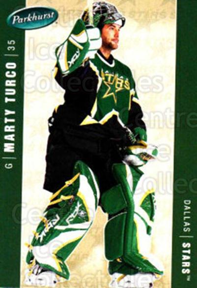 2005-06 Parkhurst #163 Marty Turco<br/>7 In Stock - $1.00 each - <a href=https://centericecollectibles.foxycart.com/cart?name=2005-06%20Parkhurst%20%23163%20Marty%20Turco...&quantity_max=7&price=$1.00&code=127711 class=foxycart> Buy it now! </a>