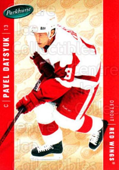 2005-06 Parkhurst #167 Pavel Datsyuk<br/>4 In Stock - $2.00 each - <a href=https://centericecollectibles.foxycart.com/cart?name=2005-06%20Parkhurst%20%23167%20Pavel%20Datsyuk...&quantity_max=4&price=$2.00&code=127715 class=foxycart> Buy it now! </a>