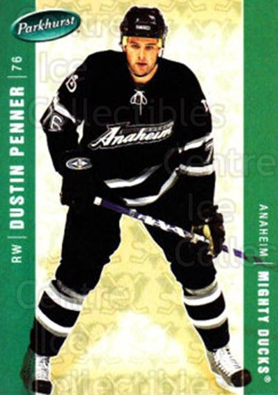 2005-06 Parkhurst #17 Dustin Penner<br/>3 In Stock - $2.00 each - <a href=https://centericecollectibles.foxycart.com/cart?name=2005-06%20Parkhurst%20%2317%20Dustin%20Penner...&quantity_max=3&price=$2.00&code=127718 class=foxycart> Buy it now! </a>