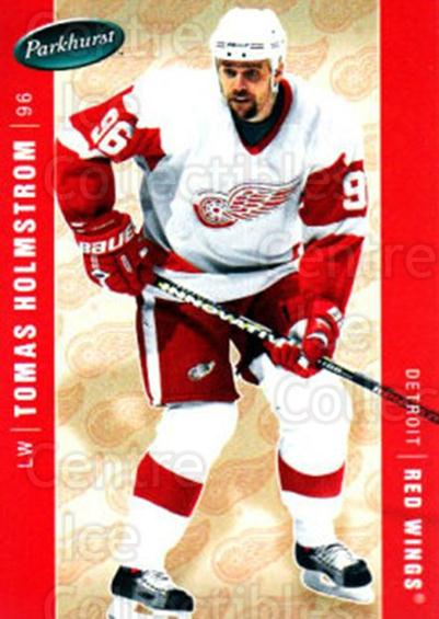 2005-06 Parkhurst #176 Tomas Holmstrom<br/>6 In Stock - $1.00 each - <a href=https://centericecollectibles.foxycart.com/cart?name=2005-06%20Parkhurst%20%23176%20Tomas%20Holmstrom...&quantity_max=6&price=$1.00&code=127725 class=foxycart> Buy it now! </a>