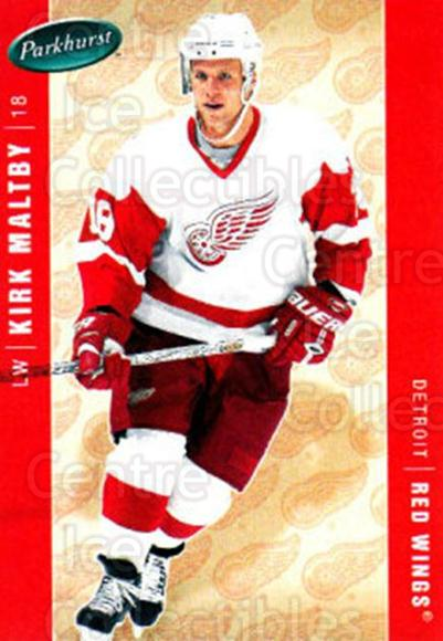 2005-06 Parkhurst #180 Kirk Maltby<br/>7 In Stock - $1.00 each - <a href=https://centericecollectibles.foxycart.com/cart?name=2005-06%20Parkhurst%20%23180%20Kirk%20Maltby...&quantity_max=7&price=$1.00&code=127730 class=foxycart> Buy it now! </a>