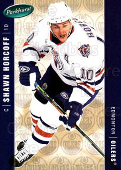 2005-06 Parkhurst #185 Shawn Horcoff<br/>7 In Stock - $1.00 each - <a href=https://centericecollectibles.foxycart.com/cart?name=2005-06%20Parkhurst%20%23185%20Shawn%20Horcoff...&quantity_max=7&price=$1.00&code=127735 class=foxycart> Buy it now! </a>