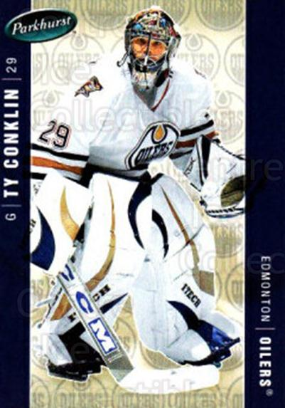 2005-06 Parkhurst #186 Ty Conklin<br/>6 In Stock - $1.00 each - <a href=https://centericecollectibles.foxycart.com/cart?name=2005-06%20Parkhurst%20%23186%20Ty%20Conklin...&quantity_max=6&price=$1.00&code=127736 class=foxycart> Buy it now! </a>