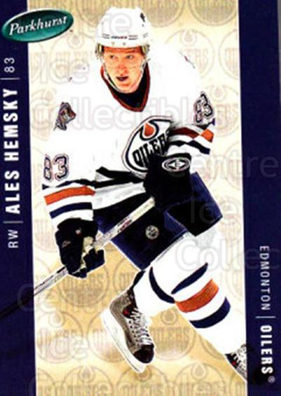 2005-06 Parkhurst #187 Ales Hemsky<br/>7 In Stock - $1.00 each - <a href=https://centericecollectibles.foxycart.com/cart?name=2005-06%20Parkhurst%20%23187%20Ales%20Hemsky...&quantity_max=7&price=$1.00&code=127737 class=foxycart> Buy it now! </a>