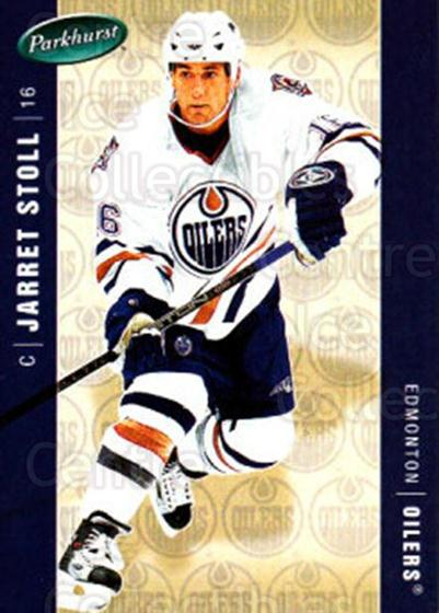 2005-06 Parkhurst #188 Jarret Stoll<br/>7 In Stock - $1.00 each - <a href=https://centericecollectibles.foxycart.com/cart?name=2005-06%20Parkhurst%20%23188%20Jarret%20Stoll...&quantity_max=7&price=$1.00&code=127738 class=foxycart> Buy it now! </a>