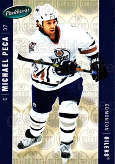 2005-06 Parkhurst #196 Mike Peca<br/>8 In Stock - $1.00 each - <a href=https://centericecollectibles.foxycart.com/cart?name=2005-06%20Parkhurst%20%23196%20Mike%20Peca...&quantity_max=8&price=$1.00&code=127747 class=foxycart> Buy it now! </a>