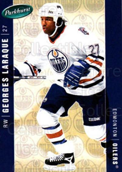 2005-06 Parkhurst #199 Georges Laraque<br/>8 In Stock - $1.00 each - <a href=https://centericecollectibles.foxycart.com/cart?name=2005-06%20Parkhurst%20%23199%20Georges%20Laraque...&quantity_max=8&price=$1.00&code=127750 class=foxycart> Buy it now! </a>