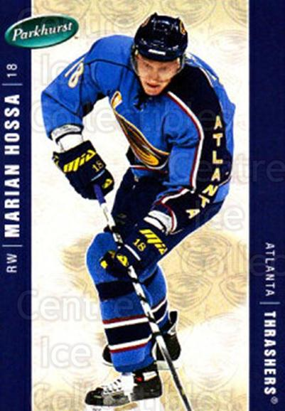 2005-06 Parkhurst #20 Marian Hossa<br/>6 In Stock - $1.00 each - <a href=https://centericecollectibles.foxycart.com/cart?name=2005-06%20Parkhurst%20%2320%20Marian%20Hossa...&quantity_max=6&price=$1.00&code=127752 class=foxycart> Buy it now! </a>