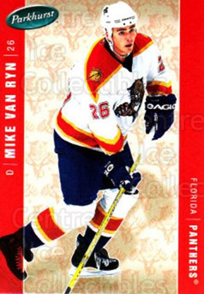 2005-06 Parkhurst #211 Mike Van Ryn<br/>6 In Stock - $1.00 each - <a href=https://centericecollectibles.foxycart.com/cart?name=2005-06%20Parkhurst%20%23211%20Mike%20Van%20Ryn...&quantity_max=6&price=$1.00&code=127765 class=foxycart> Buy it now! </a>