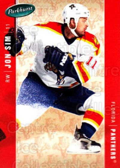 2005-06 Parkhurst #214 Jon Sim<br/>7 In Stock - $1.00 each - <a href=https://centericecollectibles.foxycart.com/cart?name=2005-06%20Parkhurst%20%23214%20Jon%20Sim...&quantity_max=7&price=$1.00&code=127768 class=foxycart> Buy it now! </a>