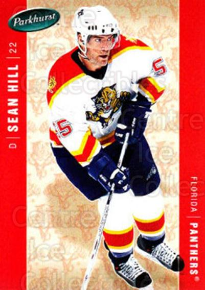 2005-06 Parkhurst #215 Sean Hill<br/>7 In Stock - $1.00 each - <a href=https://centericecollectibles.foxycart.com/cart?name=2005-06%20Parkhurst%20%23215%20Sean%20Hill...&quantity_max=7&price=$1.00&code=127769 class=foxycart> Buy it now! </a>