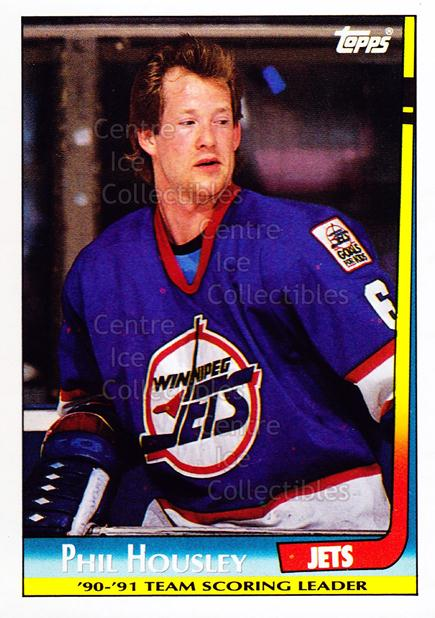 1991-92 Topps Team Scoring Leaders #11 Phil Housley<br/>3 In Stock - $1.00 each - <a href=https://centericecollectibles.foxycart.com/cart?name=1991-92%20Topps%20Team%20Scoring%20Leaders%20%2311%20Phil%20Housley...&quantity_max=3&price=$1.00&code=12819 class=foxycart> Buy it now! </a>