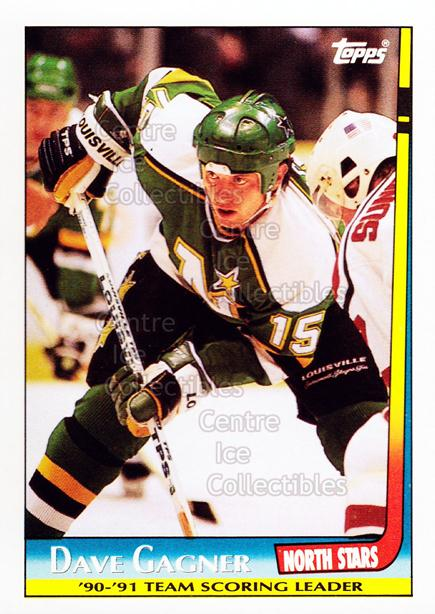 1991-92 Topps Team Scoring Leaders #7 Dave Gagner<br/>4 In Stock - $1.00 each - <a href=https://centericecollectibles.foxycart.com/cart?name=1991-92%20Topps%20Team%20Scoring%20Leaders%20%237%20Dave%20Gagner...&quantity_max=4&price=$1.00&code=12832 class=foxycart> Buy it now! </a>