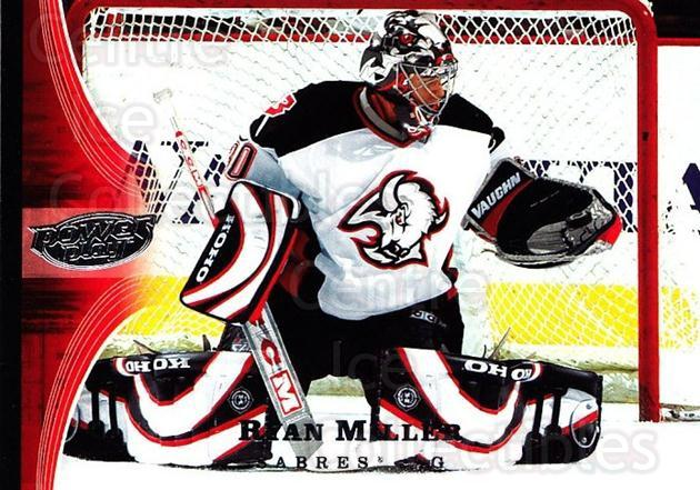 2005-06 UD Power Play #11 Ryan Miller<br/>3 In Stock - $1.00 each - <a href=https://centericecollectibles.foxycart.com/cart?name=2005-06%20UD%20Power%20Play%20%2311%20Ryan%20Miller...&quantity_max=3&price=$1.00&code=128426 class=foxycart> Buy it now! </a>