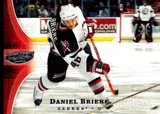 2005-06 UD Power Play #12 Daniel Briere<br/>5 In Stock - $1.00 each - <a href=https://centericecollectibles.foxycart.com/cart?name=2005-06%20UD%20Power%20Play%20%2312%20Daniel%20Briere...&quantity_max=5&price=$1.00&code=128427 class=foxycart> Buy it now! </a>