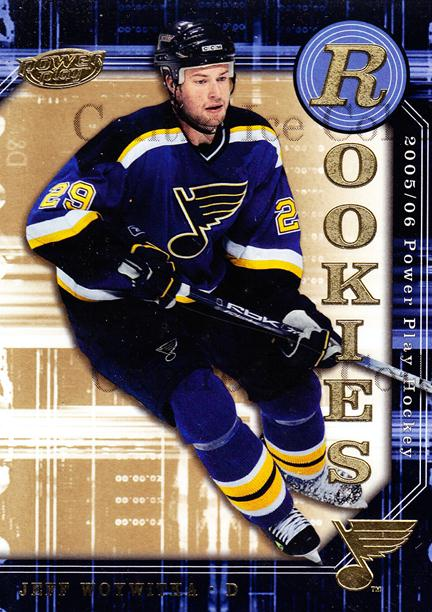 2005-06 UD Power Play #137 Jeff Woywitka<br/>11 In Stock - $2.00 each - <a href=https://centericecollectibles.foxycart.com/cart?name=2005-06%20UD%20Power%20Play%20%23137%20Jeff%20Woywitka...&price=$2.00&code=128432 class=foxycart> Buy it now! </a>