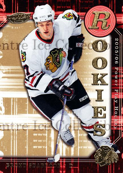 2005-06 UD Power Play #140 Brent Seabrook<br/>11 In Stock - $2.00 each - <a href=https://centericecollectibles.foxycart.com/cart?name=2005-06%20UD%20Power%20Play%20%23140%20Brent%20Seabrook...&quantity_max=11&price=$2.00&code=128436 class=foxycart> Buy it now! </a>