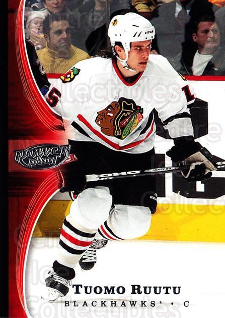 2005-06 UD Power Play #20 Tuomo Ruutu<br/>4 In Stock - $1.00 each - <a href=https://centericecollectibles.foxycart.com/cart?name=2005-06%20UD%20Power%20Play%20%2320%20Tuomo%20Ruutu...&quantity_max=4&price=$1.00&code=128470 class=foxycart> Buy it now! </a>
