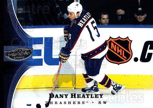 2005-06 UD Power Play #4 Dany Heatley<br/>5 In Stock - $1.00 each - <a href=https://centericecollectibles.foxycart.com/cart?name=2005-06%20UD%20Power%20Play%20%234%20Dany%20Heatley...&quantity_max=5&price=$1.00&code=128490 class=foxycart> Buy it now! </a>