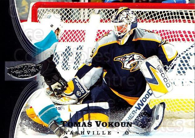2005-06 UD Power Play #51 Tomas Vokoun<br/>4 In Stock - $1.00 each - <a href=https://centericecollectibles.foxycart.com/cart?name=2005-06%20UD%20Power%20Play%20%2351%20Tomas%20Vokoun...&quantity_max=4&price=$1.00&code=128500 class=foxycart> Buy it now! </a>