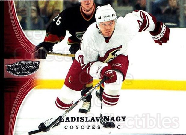 2005-06 UD Power Play #68 Ladislav Nagy<br/>4 In Stock - $1.00 each - <a href=https://centericecollectibles.foxycart.com/cart?name=2005-06%20UD%20Power%20Play%20%2368%20Ladislav%20Nagy...&quantity_max=4&price=$1.00&code=128515 class=foxycart> Buy it now! </a>