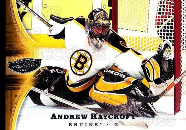 2005-06 UD Power Play #9 Andrew Raycroft<br/>5 In Stock - $1.00 each - <a href=https://centericecollectibles.foxycart.com/cart?name=2005-06%20UD%20Power%20Play%20%239%20Andrew%20Raycroft...&quantity_max=5&price=$1.00&code=128539 class=foxycart> Buy it now! </a>