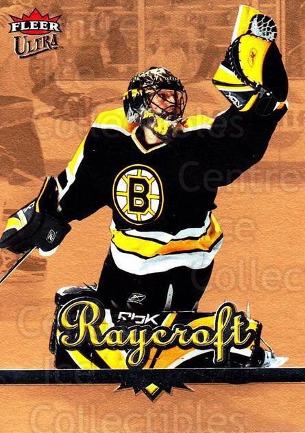 2005-06 Ultra Gold #15 Andrew Raycroft<br/>4 In Stock - $2.00 each - <a href=https://centericecollectibles.foxycart.com/cart?name=2005-06%20Ultra%20Gold%20%2315%20Andrew%20Raycroft...&quantity_max=4&price=$2.00&code=128611 class=foxycart> Buy it now! </a>