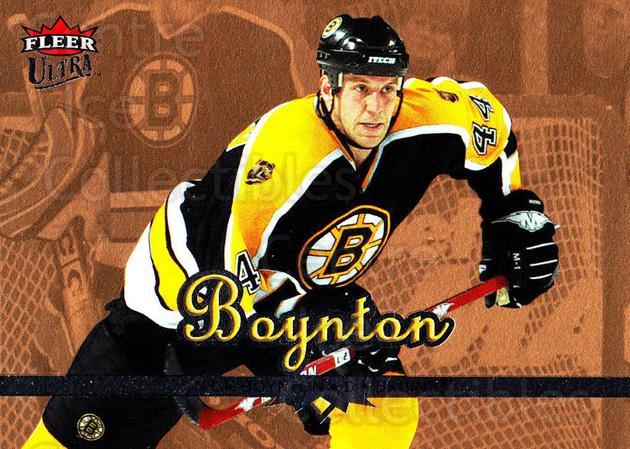 2005-06 Ultra Gold #20 Nick Boynton<br/>4 In Stock - $2.00 each - <a href=https://centericecollectibles.foxycart.com/cart?name=2005-06%20Ultra%20Gold%20%2320%20Nick%20Boynton...&quantity_max=4&price=$2.00&code=128665 class=foxycart> Buy it now! </a>