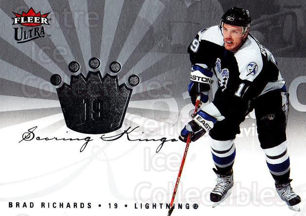 2005-06 Ultra Scoring Kings #16 Brad Richards<br/>4 In Stock - $2.00 each - <a href=https://centericecollectibles.foxycart.com/cart?name=2005-06%20Ultra%20Scoring%20Kings%20%2316%20Brad%20Richards...&quantity_max=4&price=$2.00&code=128708 class=foxycart> Buy it now! </a>